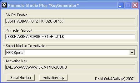 pinnacle studio 9.3 keygen