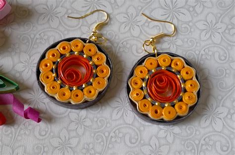 Of Paper Jewellery - quilling jewellery mousumi arts and design