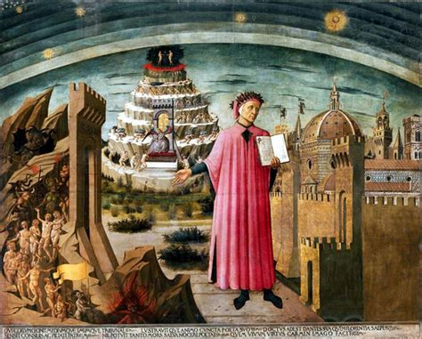libro florence the paintings la commedia illumina firenze by domenico di michelino