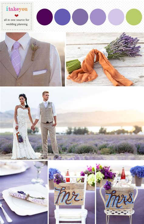 Lavender wedding color palette,Spring wedding colors