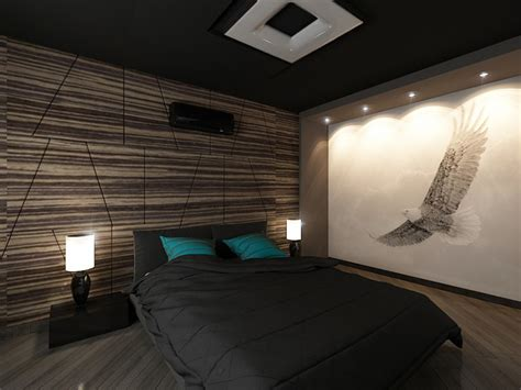 Mens Bedroom Designs Room Remix