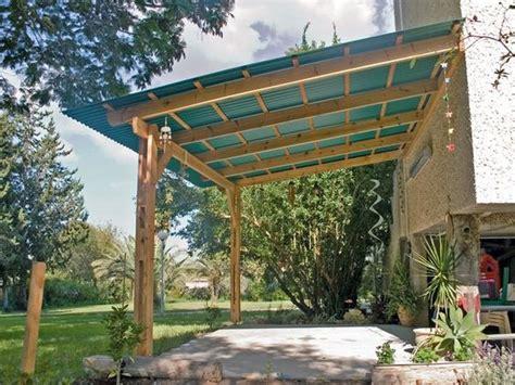 corrugated plastic diy patio and patio on
