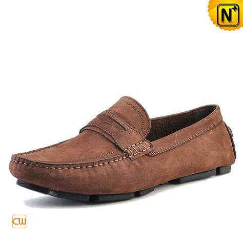 image of loafers mens slip on leather loafers cw740301