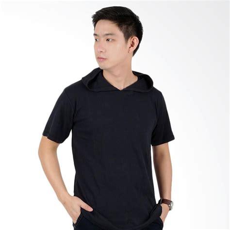 Atasan Kaos T Shirt Costum Nomer Punggung jual elfs shop kaos hoodie polos atasan pria hitam harga kualitas terjamin blibli