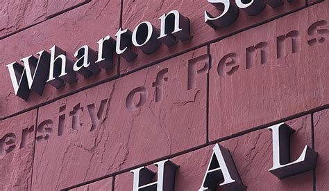 Benefits Of A Wharton Mba by A View Of 2015