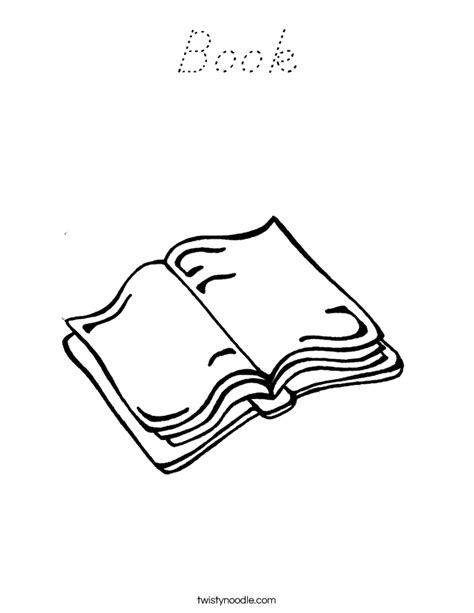 D Nealian Coloring Pages by Book Coloring Page D Nealian Twisty Noodle