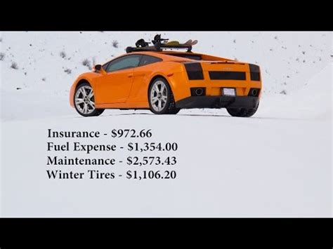 Lamborghini Running Costs Running Costs To Daily Drive A Lamborghini The
