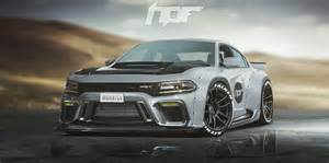 widebody dodge charger hellcat rendered as the coupe dodge needs to build autoevolution