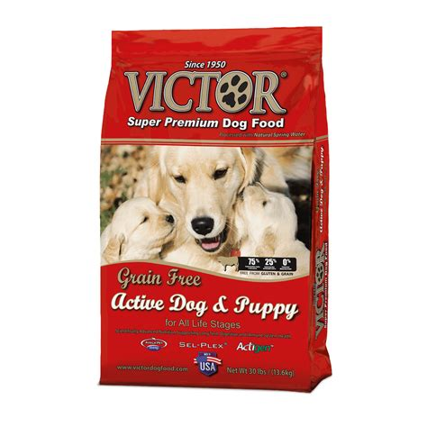 victor grain free food victor grain free all stages food 30 lb