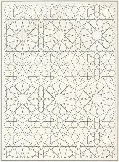 islamic pattern colouring islamic pattern coloring book page geometrik desenler