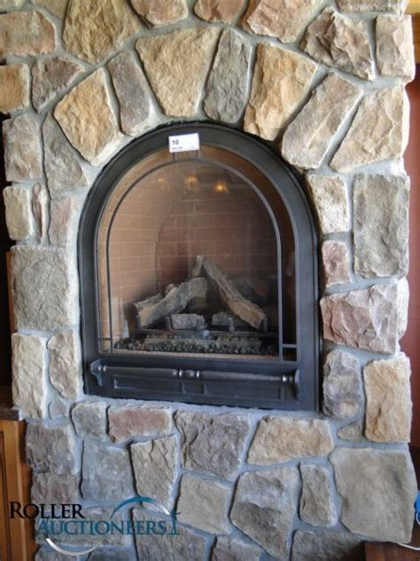 arched gas fireplace for small room home
