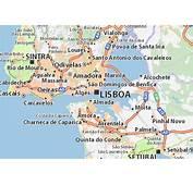 Carte D&233taill&233e Lisbonne  Plan ViaMichelin