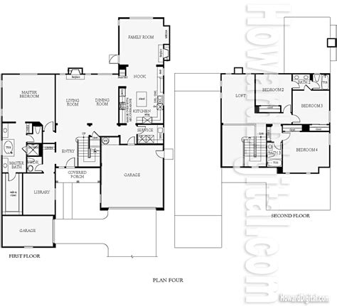 Old Pulte Floor Plans by