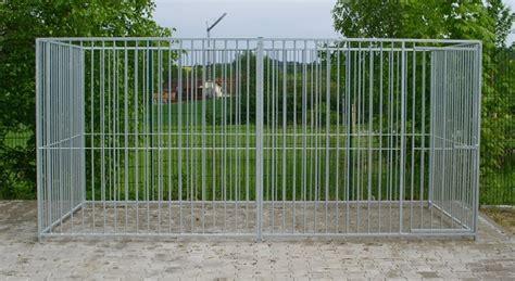 Eisenzaun Selber Bauen by Hundezwinger Und Zwingerelemente Mit 80 Mm Stababstand