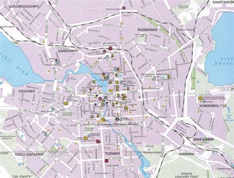 yekaterinburg map yekaterinburg city map yekaterinburg mappery