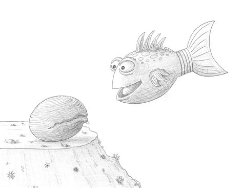 free coloring pages of the pout pout fish