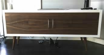 Home Depot Wardrobe Cabinet - mid century modern kallax with a walnut face ikea