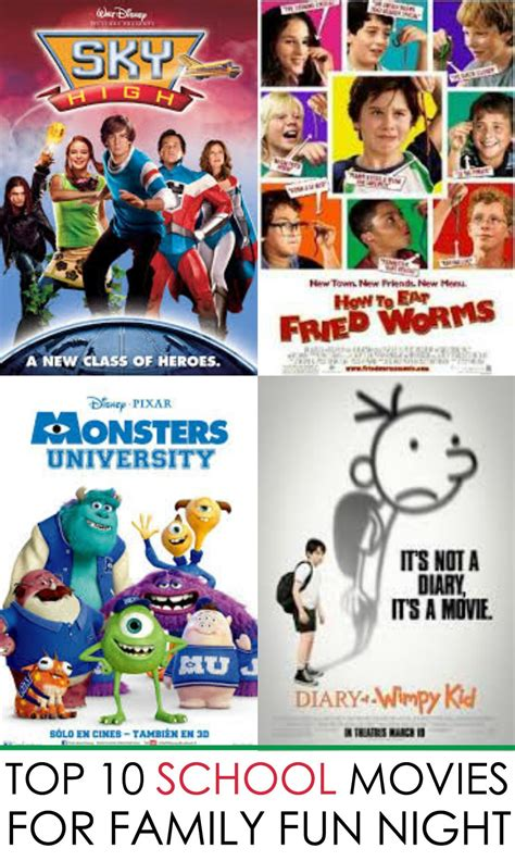 back to school 10 best back to school movies for family fun night