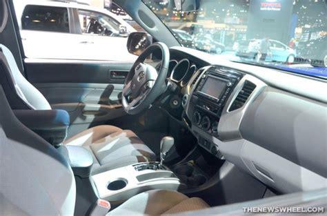 2014 Tacoma Interior by 2014 Toyota Tacoma Overview The News Wheel
