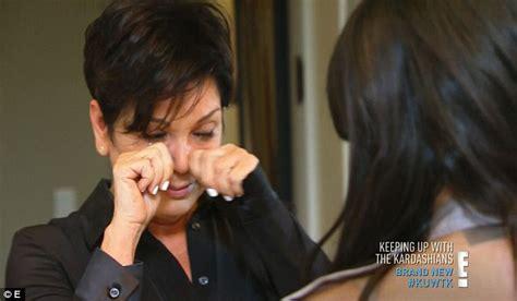 khloe kardashian comforts mom kris jenner after transwoman slam caitlyn jenner steps out looking downcast just days after