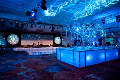 for a winter themed corporate party design director