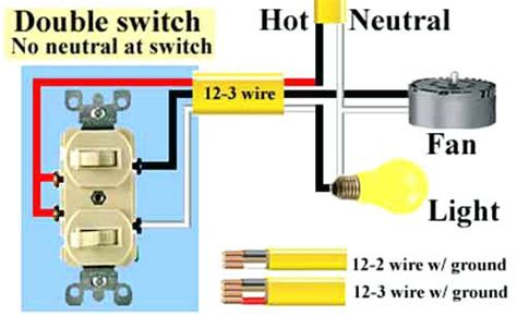 wire  double pole switch diagram