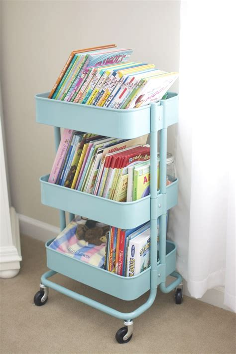 raskog cart ideas r 197 skog kitchen cart as book bin the babies pinterest