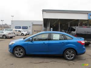 ford focus blue candy paint code