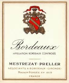 Here are 4 old bordeaux region wine labels call me old fashioned but