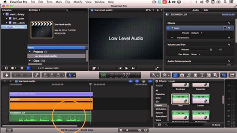 final cut pro unlink audio and video how to fix quiet audio in final cut pro x izzy video 260