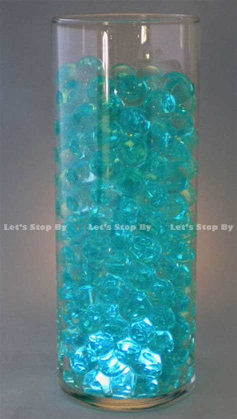 100g Water Bead Turquoise Wedding Supplies Floral Vase