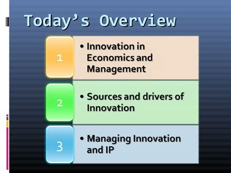 Mba Innovation And Technology Management by Mod001093 Understanding Innovation 010315