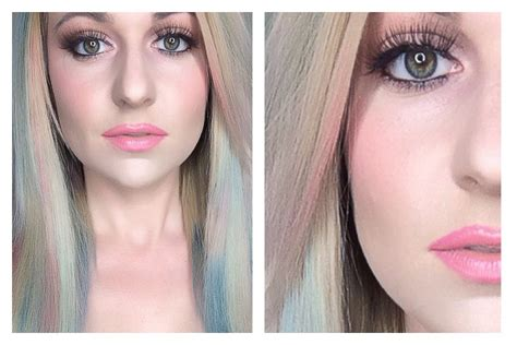 splat hair color multi colored rainbow multi colored pastel hair color splat hair chalk