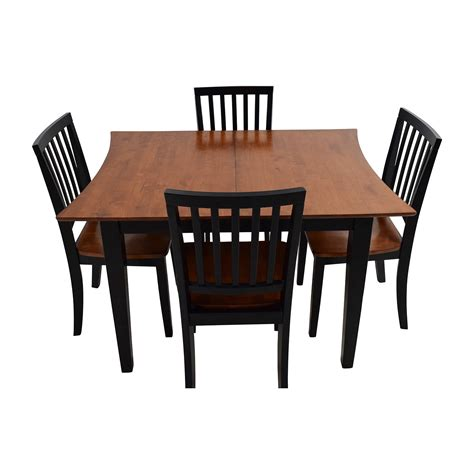 bobs furniture kitchen table set delightful bobs furniture dining room riverdale trends