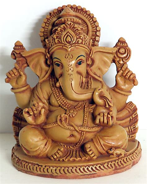 Paper Mache Lord Ganesha Statue Pictures Picture to Pin on