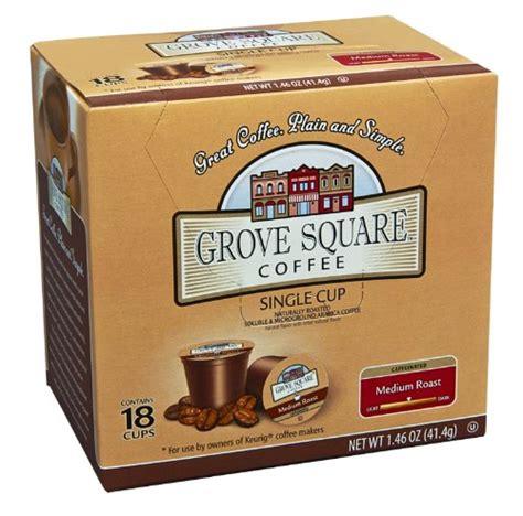 Square K grove square k cups grove square coffee medium roast
