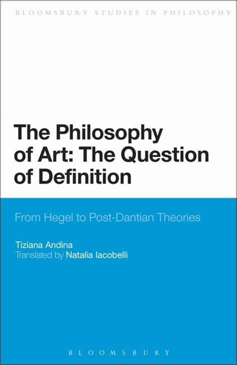 format epub definition the philosophy of art the question of definition from