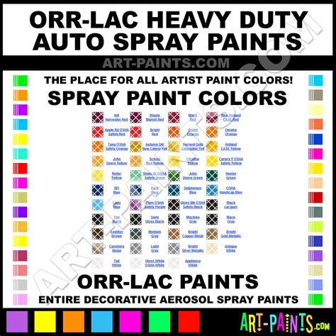 orr lac heavy duty auto spray paint aerosol colors orr lac heavy duty auto paint decorative