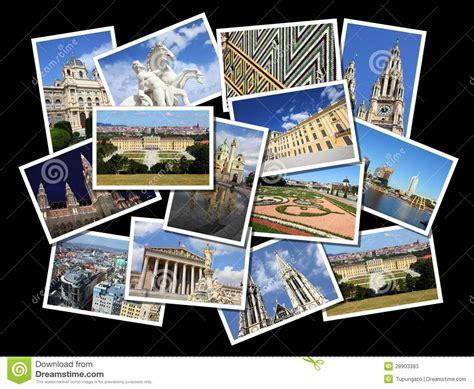 freie collage vorlagen um foto wien collage stockfotos bild 28903383