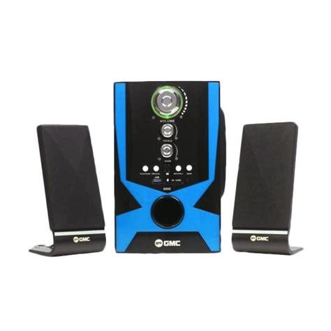 jual gmc 888e multimedia speaker hitam home audio harga kualitas terjamin blibli