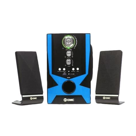 Speaker Multimedia Gmc 887a jual gmc 888e multimedia speaker hitam home audio harga kualitas terjamin blibli