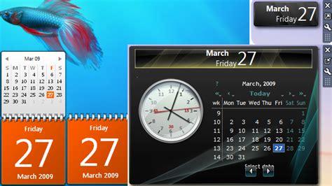 Calendar Desktop Gadget Windows 7 Custom Gadgets By Sergiogarcia9 Windows 7 Help Forums