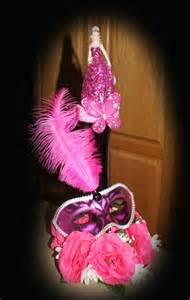 Quinceanera Centerpiece 10 Quinceanera Sweet Sixteen Masquerade Centerpieces Wholesale Lot Mask Feather Ebay