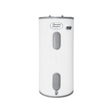 american standard water heater american standard e 40h 2 6 electric water heater 40 gallon water heater
