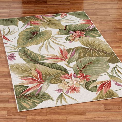 tropical accent rugs paradise haven area rugs