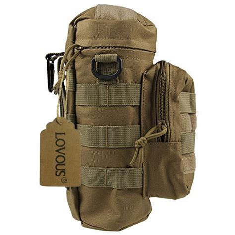 Army Tactical Pouch 01 molle tactical travel water bottle kettle pouch