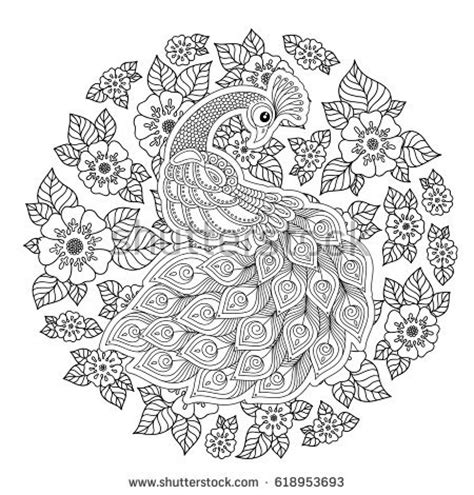 anti stress coloring book chapters free flower ornaments vector free vector