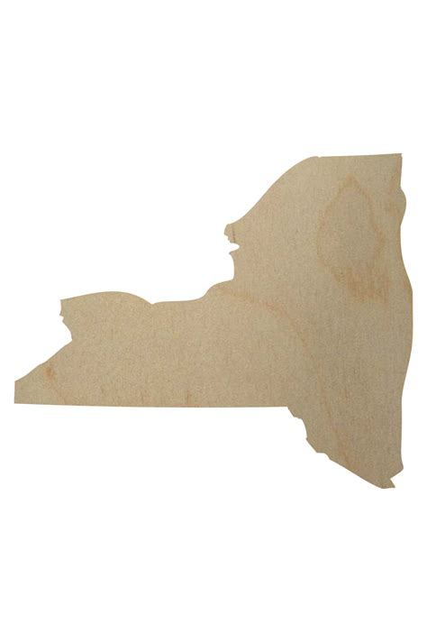 woodwork new york new york state wood shape new york wood cutout
