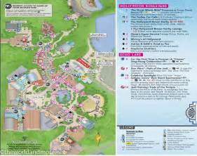 Printable Disney World Maps by Printable Disney Park Maps The World And More