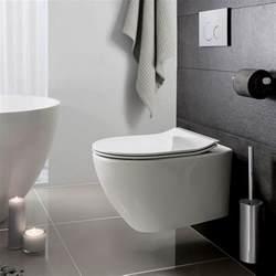 bauhaus svelte wall hung toilet uk bathrooms